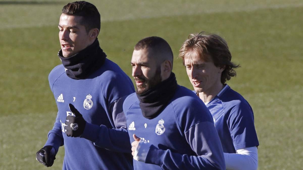Sigue las rotaciones: Cristiano y Modric no viajan