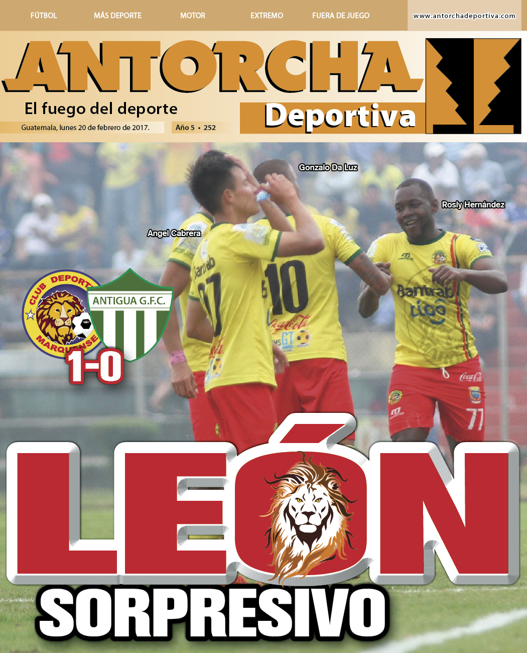 Antorcha Deportiva – Edición Semanal No.252