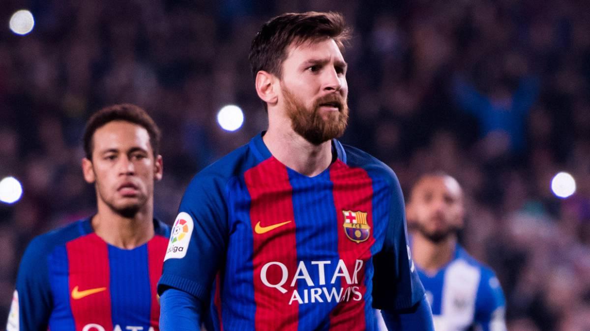 Messi no celebró el gol por los pitos del Camp Nou