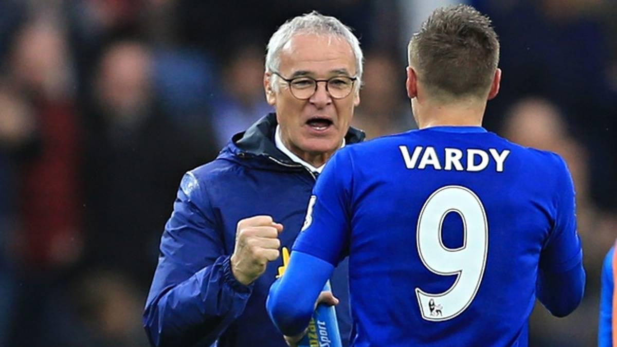 Vardy le dedica una emotiva carta a Ranieri en Instagram
