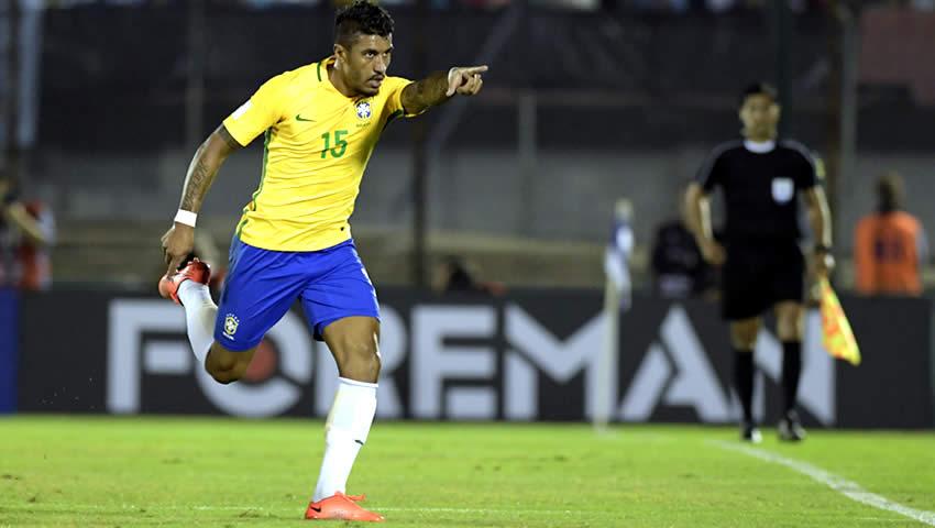 (((VIDEO))) Paulinho y Neymar para la victoria de Brasil