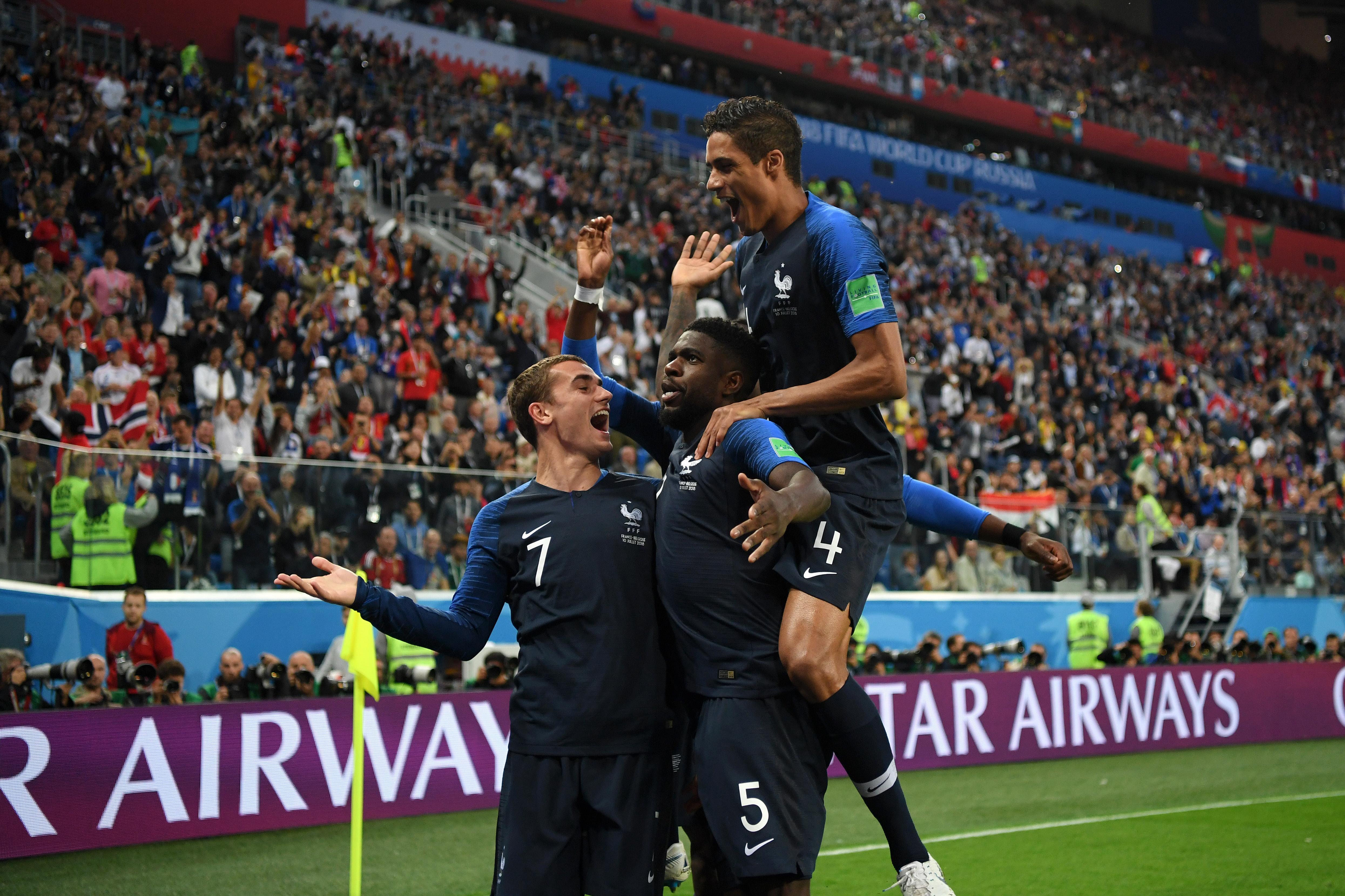 Belgium v France: Semi Final – 2018 FIFA World Cup Russia