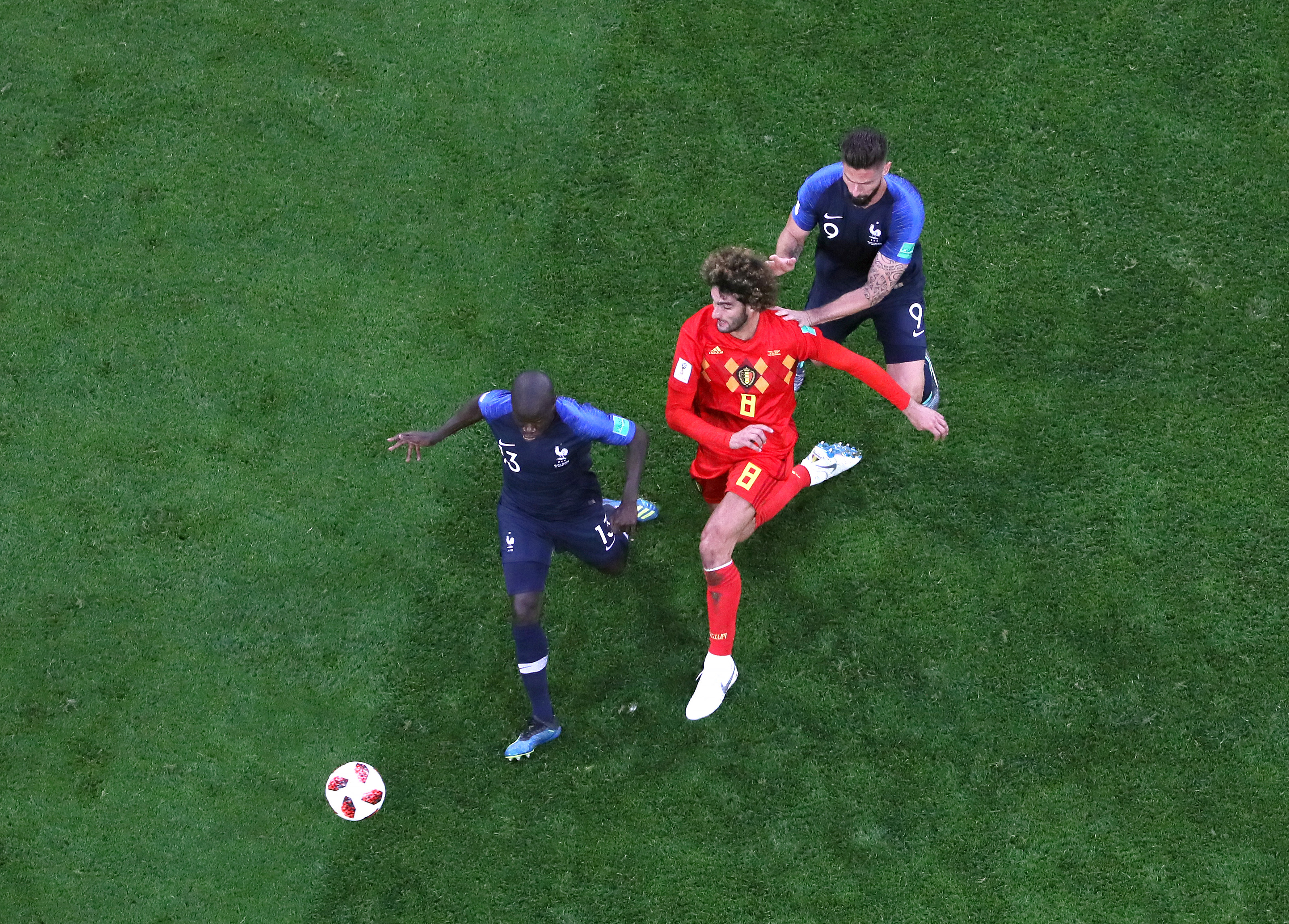 Belgium v France: Semi Final – 2018 FIFA World Cup Russia