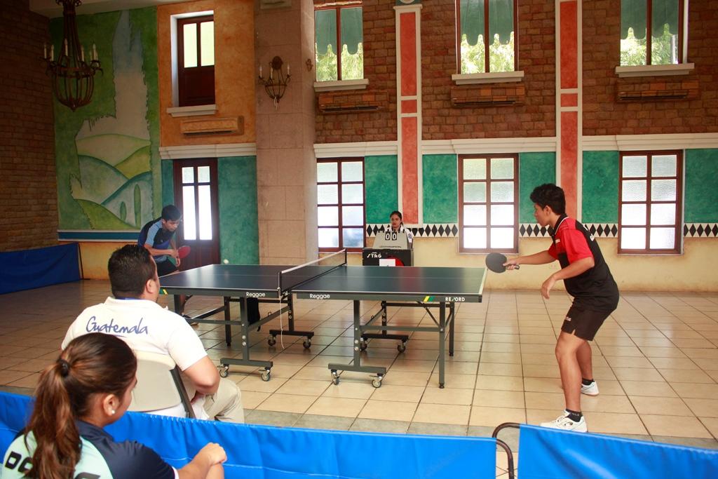 Guatemala Y San Marcos Destacan En El Escolar De Tenis De Mesa