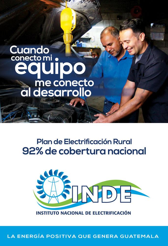 Entra al sitio oficial del INDE en facebook