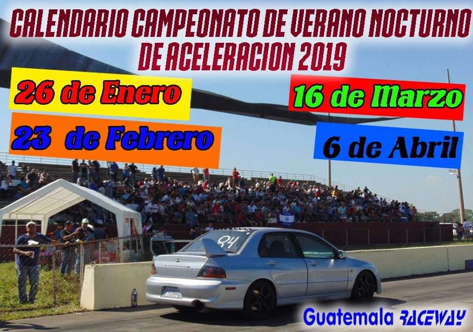 Calendario Autodromo Pedro Cofino 2019.Campeonato De Aceleracion Arranca Con Una Fecha Nocturna